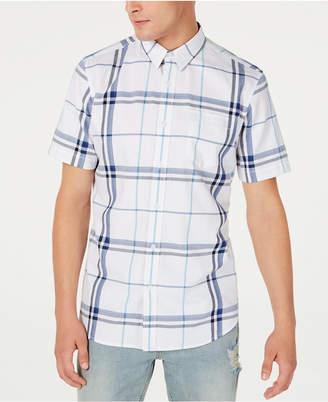 American Rag Men Mack Regular-Fit Plaid Shirt