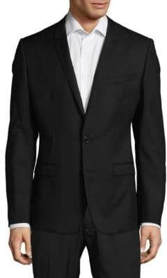 Dolce & Gabbana Modern Fit Solid Wool Sportcoat