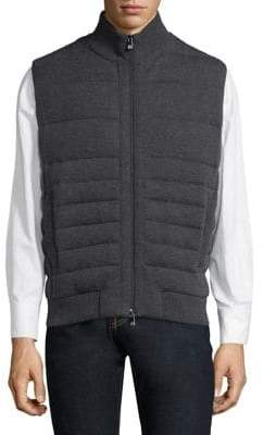 Corneliani Quilted Knit Vest