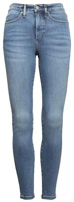Banana Republic Petite High-Rise Legging-Fit Luxe Sculpt Light Wash Ankle Jean