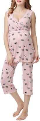 Kimi and Kai Loren Maternity/Nursing Pajamas