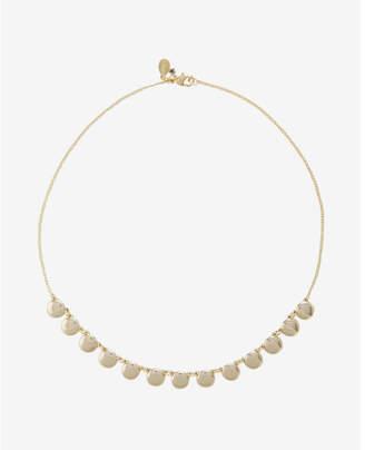 Express short disc necklace $22.90 thestylecure.com