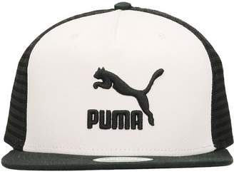 Puma Archive Cap White Black Cotton Cap