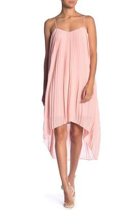 Endless Rose Pleated Hi-Lo Dress