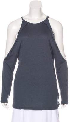 IRO Could-Shoulder Long Sleeve Top