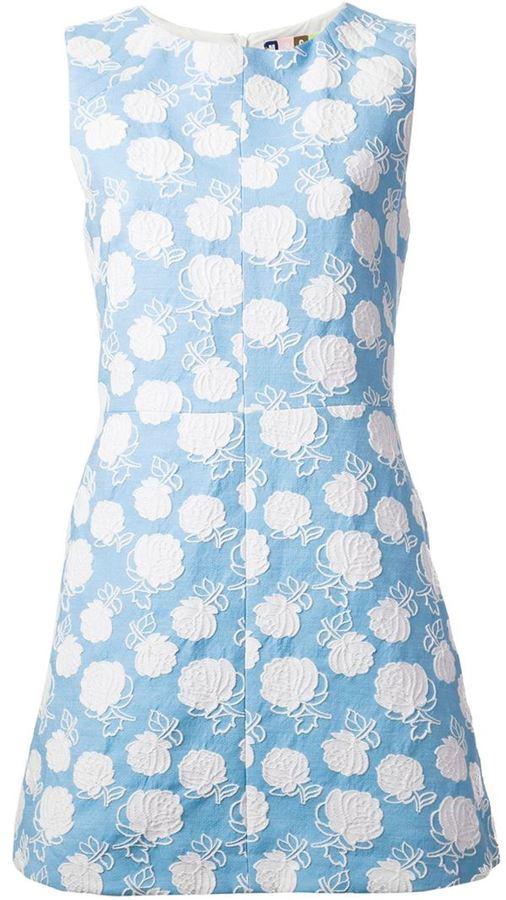 MSGM floral crochet dress