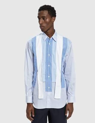 Comme des Garcons Cut Button Up Shirt