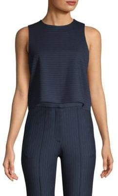 Tibi Pinstripe Sleeveless Top