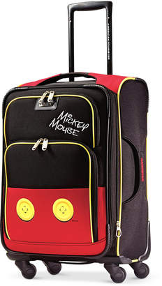 "American Tourister Disney Mickey Mouse Pants 21"" Spinner Suitcase by"