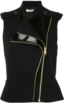Lanvin sleeveless gilet $2,045 thestylecure.com