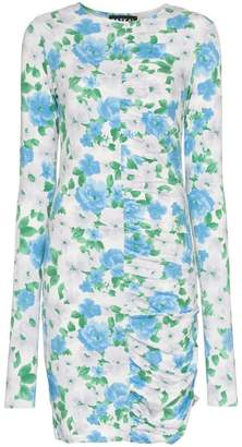 Paskal cocoon floral print dress
