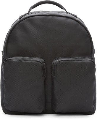 YEEZY Black Nylon Pocket Backpack $585 thestylecure.com