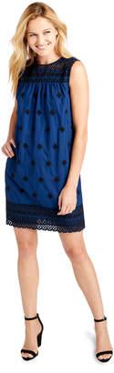 Vineyard Vines Sleeveless Eyelet Embroidered Shift Dress