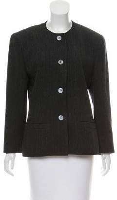 Christian Dior Wool Button-Up Jacket