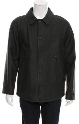 Alexander Wang Embossed Coated Jacket