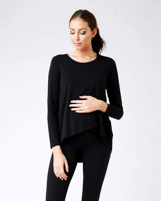 Ripe Maternity Raw Edge Nursing Top