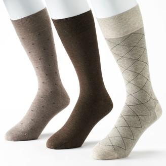 Marc Anthony Men's 3-Pack Dress Socks