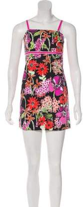 Lilly Pulitzer Floral Sleeveless Mini Dress