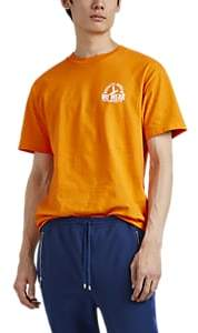 "Wu Wear Men's ""Quality Goods"" Cotton T-Shirt - Orange"