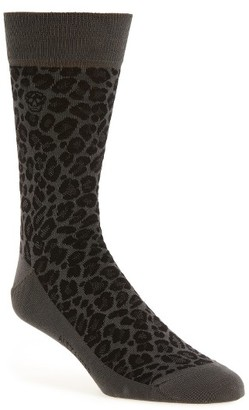 Men's Alexander Mcqueen Leopard Spot Socks $70 thestylecure.com