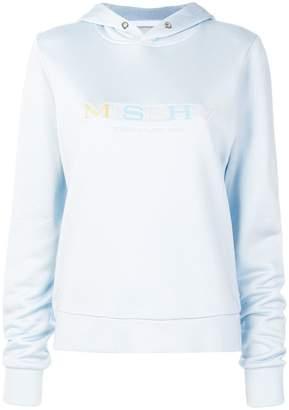 Misbhv logo print hoodie