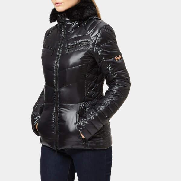 International Women's Losail Quilt Jacket Black