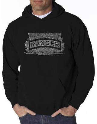 Pop Culture Men's hooded sweatshirt - the us ranger creed