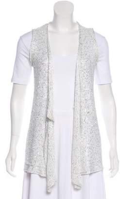 Calypso Sequined Knit Vest