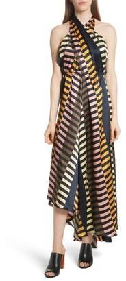 Apiece Apart Nightingale Silk Halter Dress