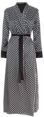 Meng MENG Silk Satin Robe