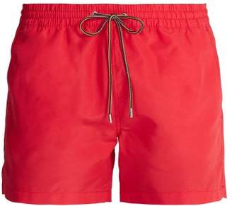 Paul Smith Mesh Lined Swim Shorts - Mens - Coral