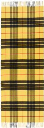 Johnstons of Elgin Tartan plaid cashmere scarf