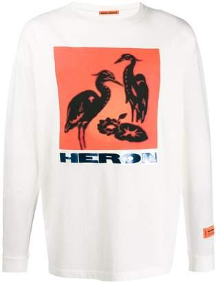 Heron Preston Heron printed top