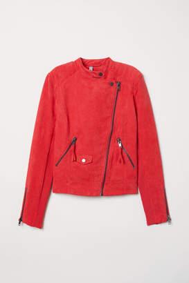 H&M Biker Jacket - Red