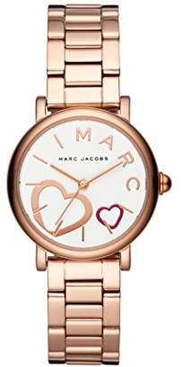 Marc Jacobs Marc by Women's MJ3592 Classic Analog Display Analog Quartz Rose Gold Watch