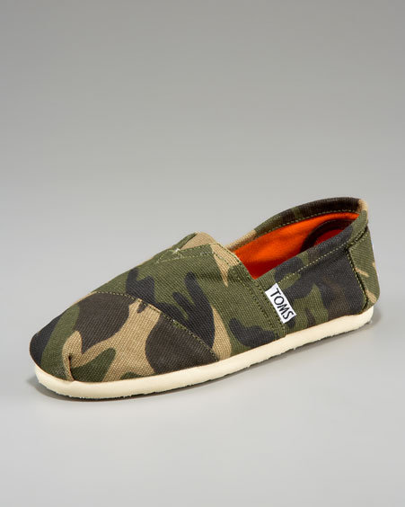 Toms Camo Slip-On, Youth