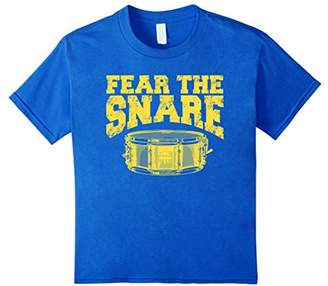 IDEA Fear The Snare Drum T-shirt | Gift For Drummers