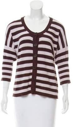 Sonia Rykiel Stripe Knit Cardigan