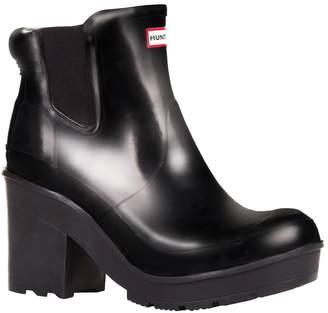 Hunter Chelsea Heeled Gloss Boots