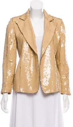 Dries Van Noten Embellished Silk Blazer
