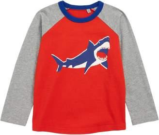 Boden Mini Print Raglan T-Shirt