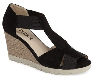 Women's The Flexx Lotto Wedge Sandal $134.95 thestylecure.com