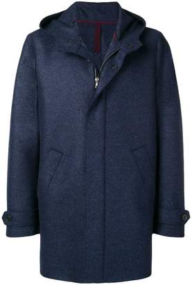 Harris Wharf London hooded coat