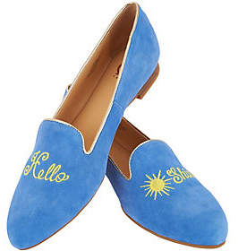"C. Wonder Suede ""Hello Sunshine"" Loafers -Chloe"