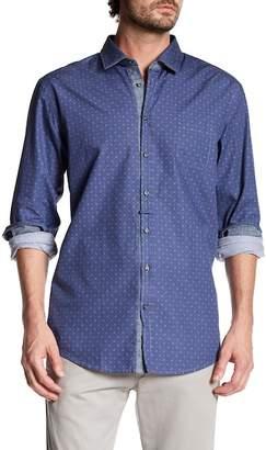BOSS Eslime Long Sleeve Slim Fit Shirt