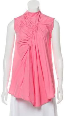 Celine Sleeveless Ruched Tunic w/ Tags