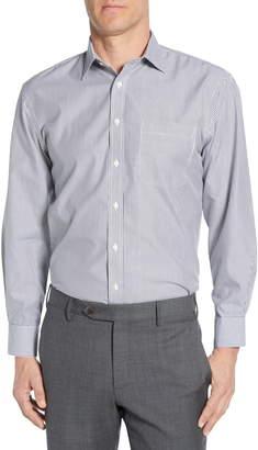 Nordstrom Smartcare(TM) Traditional Fit Stripe Dress Shirt
