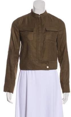 Diane von Furstenberg Mess Bomber Jacket