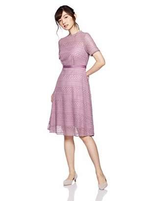 Jill Stuart (ジル スチュアート) - [ジル バイ ジルスチュアート] レーシーボトルドレス 125-8240018 レディース ピンク 日本 S (日本サイズS相当)