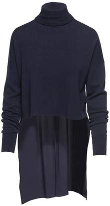 Tibi Mixed Silk Sweater